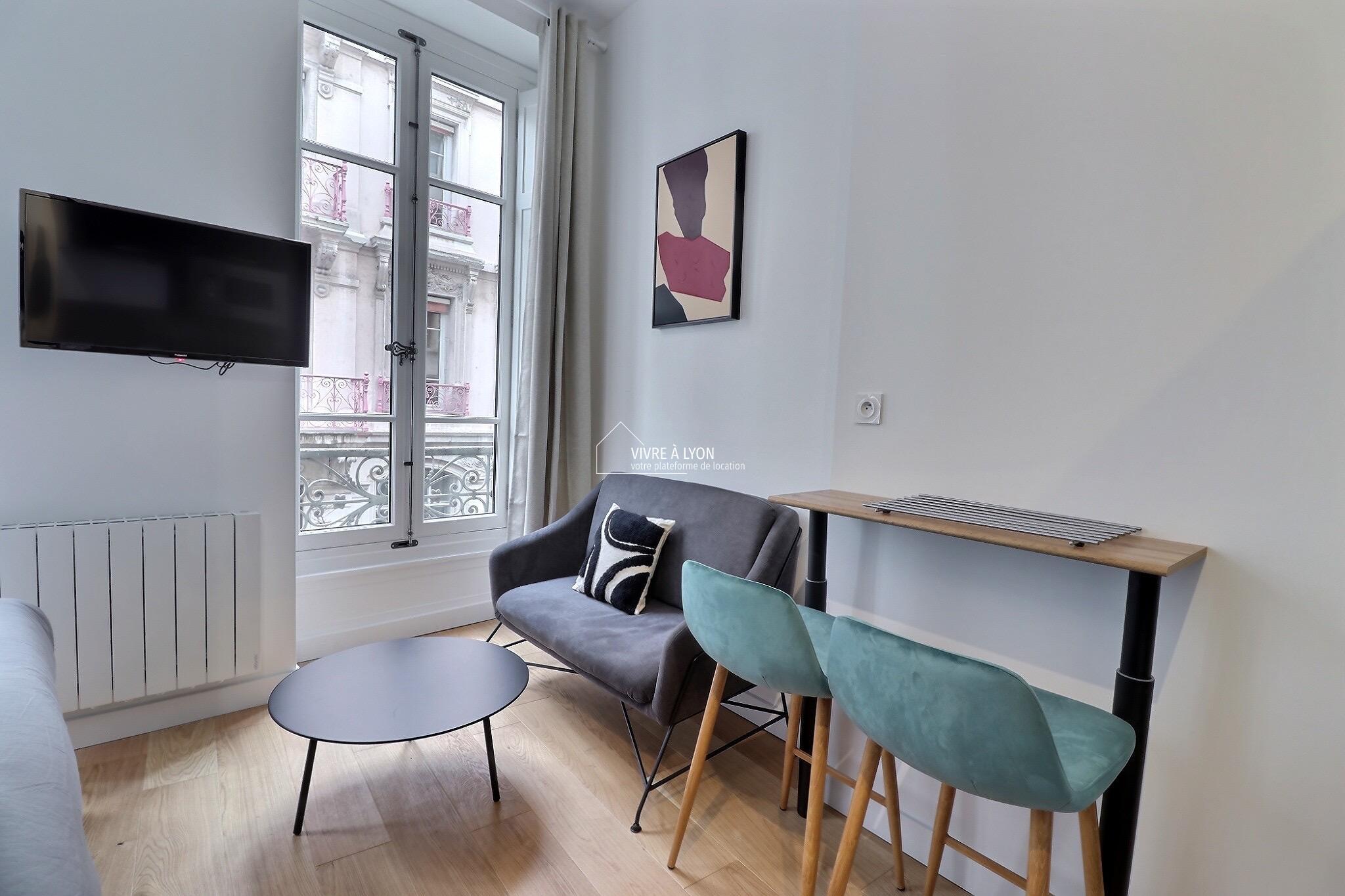 Vivre à Lyon location courte durée