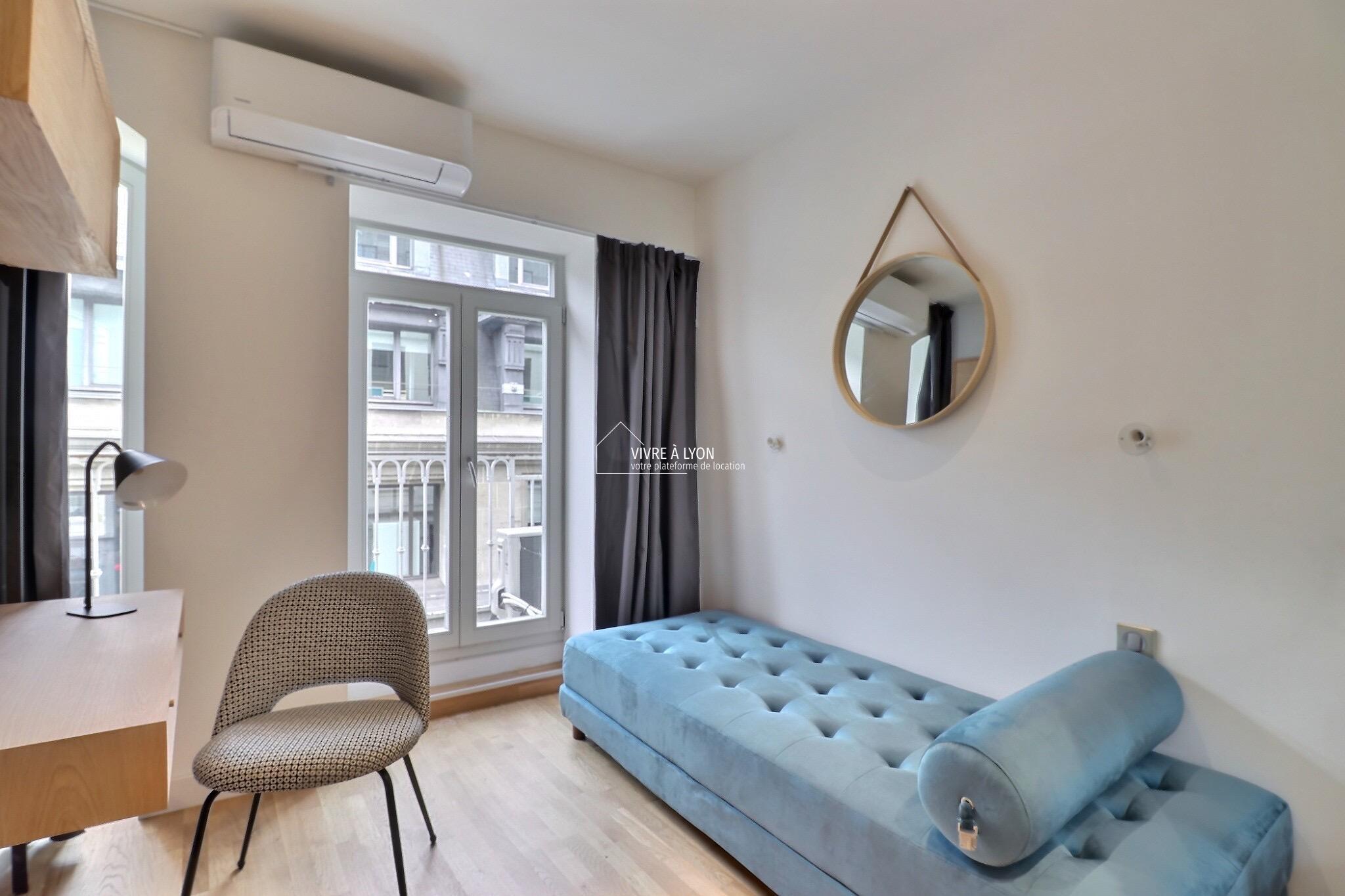 Studio à louer Le Germain Lyon salon